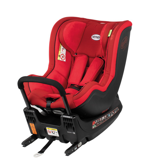 HEYNER MultiFix Twist 2.0 Kindersitz Reboard Racing Red