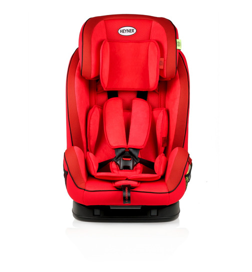 HEYNER MultiFix Aero+ Kindersitz mit Isofix Racing Red