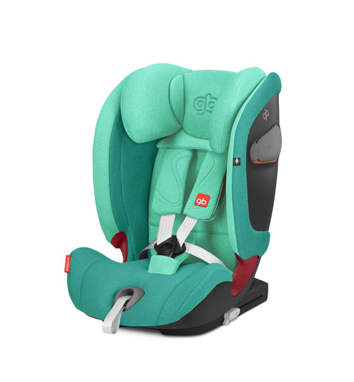 gb Gold Everna-Fix Kindersitz Laguna Blue