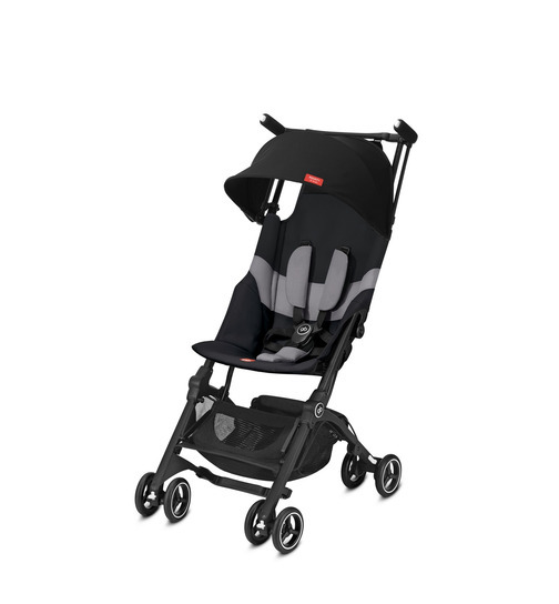 gb Gold Buggy Pockit+ All-Terrain Velvet Black
